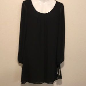 NWT My Michelle Black Dress Size S